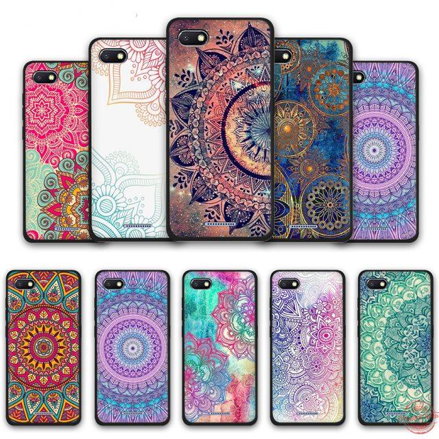 Mandala Flower Soft Phone Case for Redmi Phones