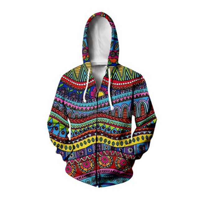 Trippy Abstract Psychedelic Hoodie/ Sweatshirt/ Long-sleeve Shirt